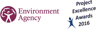 Environment Agency Project Excellence Awards logo