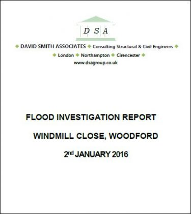 Flood Investigation – Woodford, January 2016