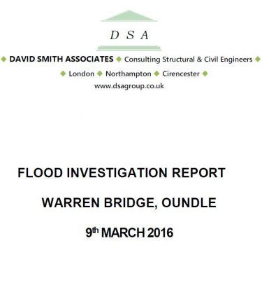 Flood Investigation – Oundle, March 2016