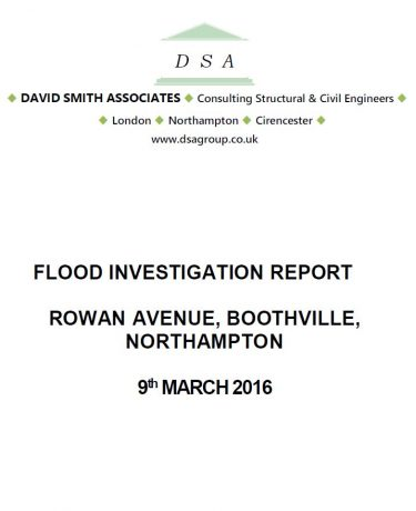 Flood Investigation – Boothville, March 2016