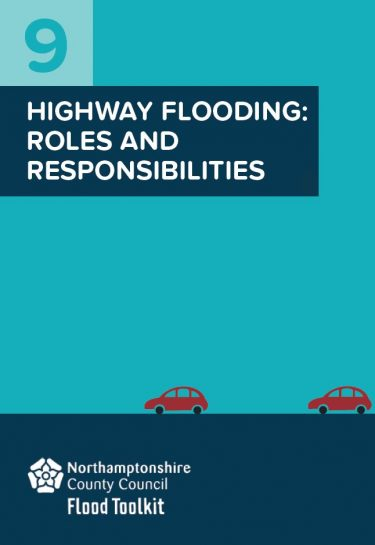 Flood Guide 9: Roles and Responsibilities for Highways