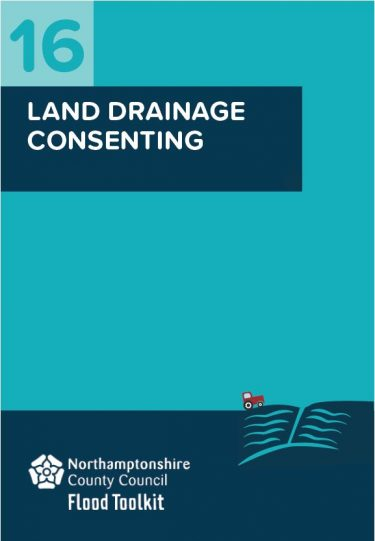Flood Guide 16: Land Drainage Consenting