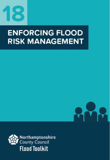 Flood Guide 18: Enforcing Flood Risk Management