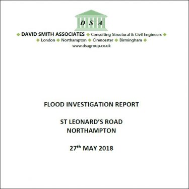 Flood Investigation – St Leonard's Road, Northampton, May 2018