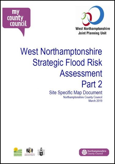 Download SFRA Site Specific Map Document
